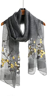 Silk Scarf Scarfs For Women Shawls And Wraps For Evening Dresses Silk And/Or Wool Scarves