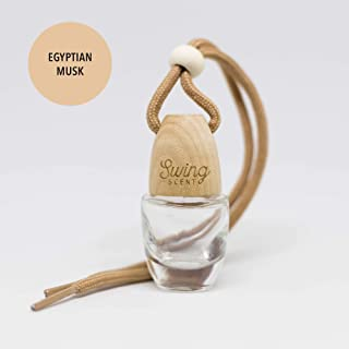 Swing Scent Air Freshener (Egyptian Musk) Hanging Fragrance Diffuser For Car or Small Space