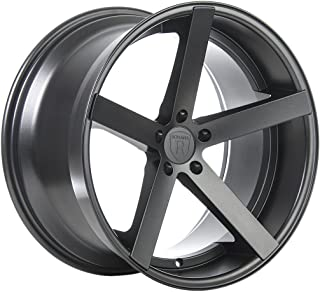 Rohana Wheels RC22 Graphite Wheel with Painted Finish (20 x 10. inches /5 x 112 mm, 33 mm Offset)