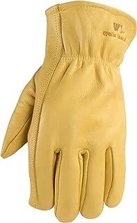 Wells Lamont Men's Leather Work Gloves, Large (1129L)