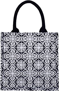 Jute Cottage Jute Bags for Lunch for and Men | Jute Grocery Bag | Jute Carry Bag | Jute Tiffin Bags | Jute Bags with zip |...