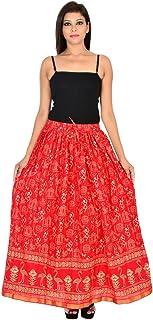 Generic Women'S Red Skirts(Jiskrt-102_Red_42W X 40L)