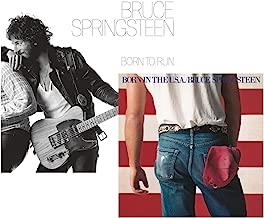 Born To Run - Born In The U.S.A. - Bruce Springsteen 2 CD Album Bundling