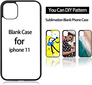 JUSTRY 10PCS Sublimation Blanks Phone Case Covers for Apple iPhone 11(6.1 Inch 2019) Printable Phone Cases (CASE for iPhone 11, 6.1 Inch) Soft Rubber Protective Shockproof Slim Case Anti-Slip
