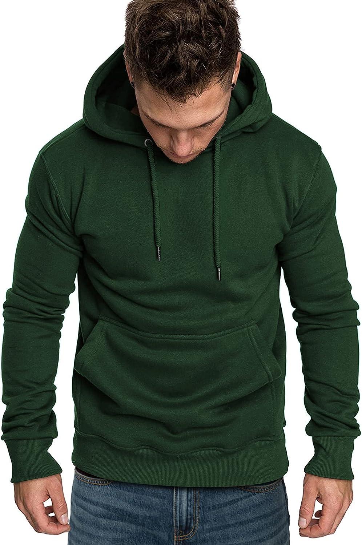 COOFANDY Men's Hoodies Sweatshirts Casual Lightweight Long Sleeves Athletic Pullovers