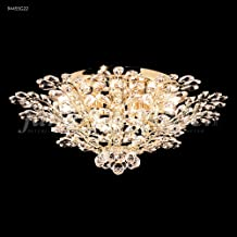 James R Moder 94455S22 Florale Collection Silver Ceiling Chandelier