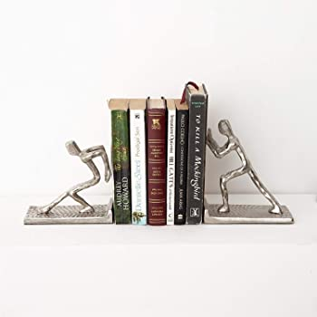 CASADECOR Human Unique Bookends for Office and Home Decor, Book Shelf, Living Room