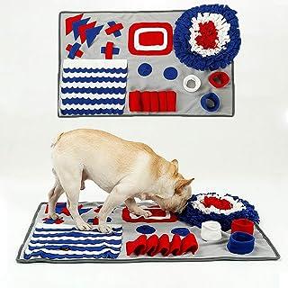 ノーズワーク マット 猫 犬 嗅覚訓練毛布 犬餌マット ペット マット 知育玩具 運動不足 ストレス分解 集中力向上 分離不安 性格改善/食いちぎる対策のペットおもちゃ 頑丈 噛むおもちゃ