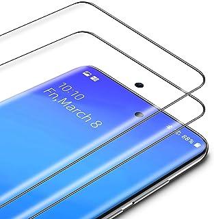 TAMOWA Skärmskydd för Samsung Galaxy S20 Plus/S20+, 2-pack, 3D premium härdat glas 9H skyddande okrossbar film, anti-repor...