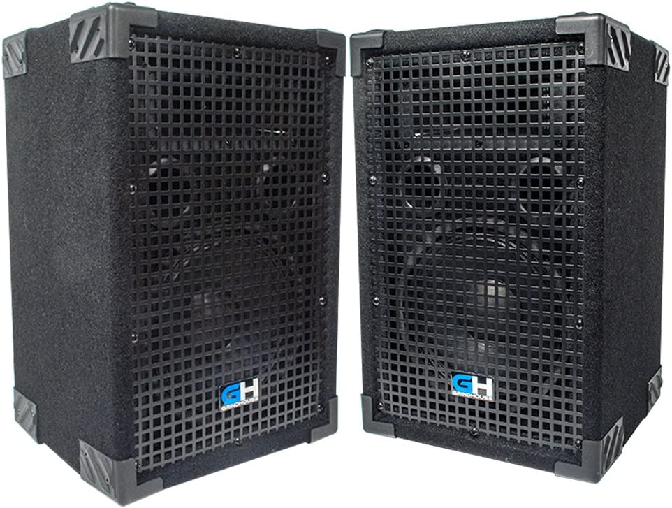 Grindhouse Speakers - Great interest GH8L-Pair Pair of Inch P 8 Max 71% OFF Passive 2-Way