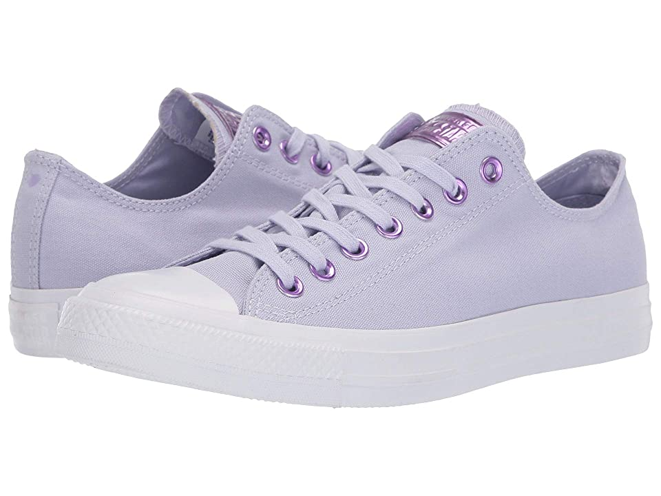 Converse Chuck Taylor(r) All Star(r) Hearts Ox (Oxygen Purple/Washed Lilac/White) Athletic Shoes