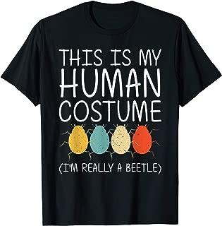 Beetle Halloween Human Costume Ladybug Insect Easy DIY Gift T-Shirt