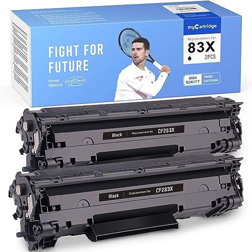discount MYCARTRIDGE Compatible Toner Cartridge Replacement for HP CF283X 83X 283X 83A CF283A Use online sale outlet sale with HP Laserjet Pro MFP M225DN M225DW M225nw Pro M201DW 2 Pack Black online sale