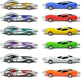 Littfun Cool Pens Fun Pens for kids Novelty Pens Cute Pens Interesting Racing Car Pens for Boys(set of 12)