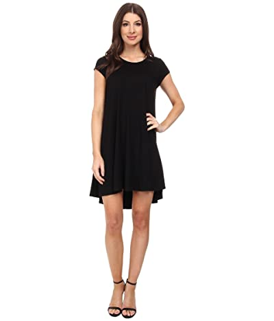 Karen Kane Maggie Trapeze Dress (Black) Women