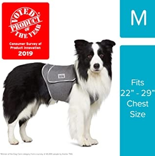 Comfort Zone Calming Vests for Dogs, for Thunder and Anxiety, Medium (22-29