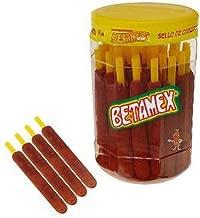Banderilla Tarugos Tamarindo Chile Mexican Tamarind Candy Sticks 50 Pc