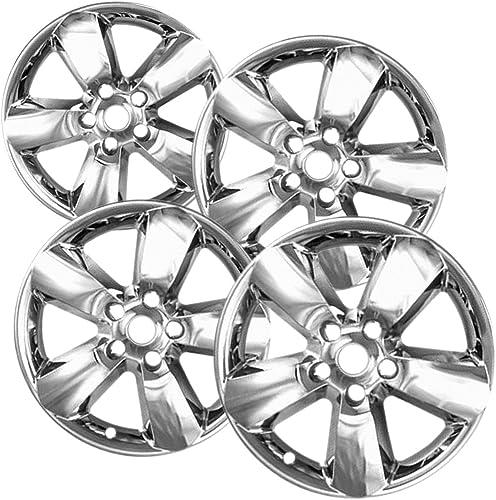popular OxGord Wheel Skin for 2021 2013-2015 Dodge Ram (Pack of 4) sale Wheel Covers - 20 inch Chrome Impostors outlet online sale