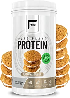 Flow Supplements 27g Pure Plant Protein Powder, Pea Protein, Watermelon Protein, Pumpkin Protein, Naturally Sweetened and ...