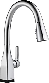 Delta Faucet Mateo Single-Handle Touch Kitchen Sink Faucet with Pull Down Sprayer, Touch2O and ShieldSpray Technology, Magnetic Docking Spray Head, Chrome 9183T-DST