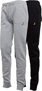 BRAVE SOUL Mens 2 Pack Crew Neck Sweatshirt Jog Bottoms Elasticated Fashion New
