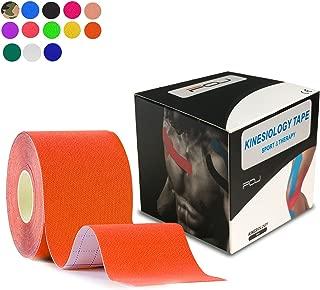 テーピングテープ キネシオ テープ 筋肉・関節をサポート 伸縮性強い 汗に強い パフォーマンスを高める 5cm×5m …