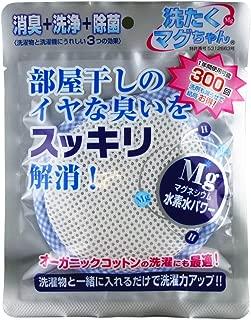 宮本製作所 洗濯マグちゃん ブルー 50g 消臭 洗浄 除菌