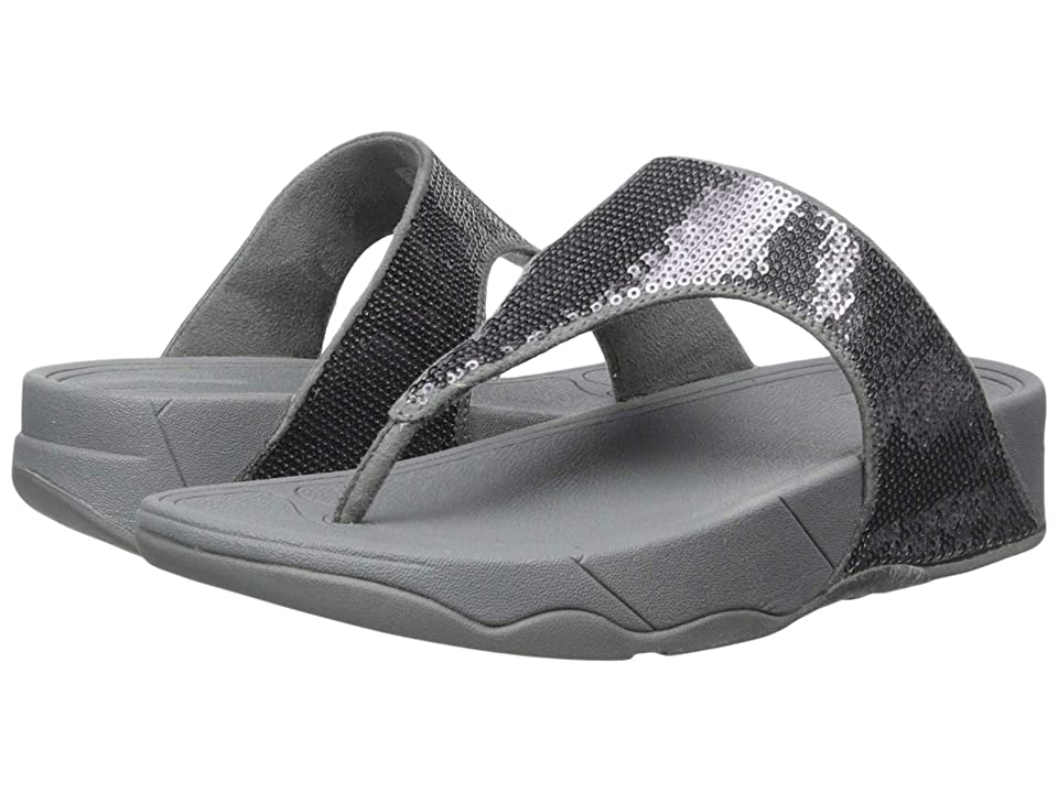 FitFlop Electratm Classic Toe Post (Pewter) Women