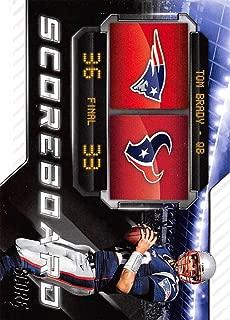 2018 Score Scoreboard #4 Tom Brady New England Patriots Football Card