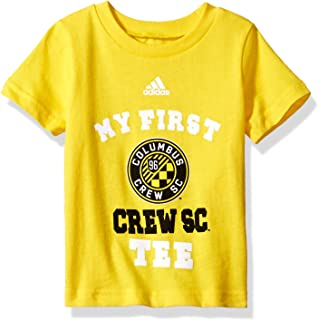 MLS Columbus Crew Boys My First Short Sleeve Tee, Sun, 24 Months