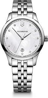 Victorinox - Mujer Alliance Small - Reloj de Acero Inoxidable de Cuarzo analógico de fabricación Suiza 241830