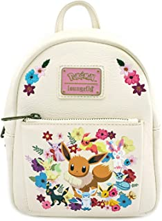 Loungefly x Eeveelutions Eevee Evolutions Floral Mini Backpack