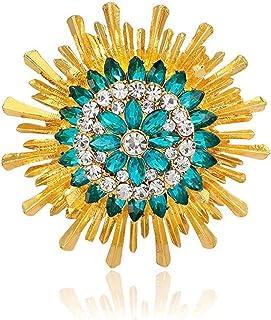 FOPUYTQABG broche de aleación broche de los hombres femeninos moda shell material moda exquisita decoración retro accesori...