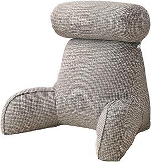 Almohada de lectura, cojín de apoyo para lectura, cojín de apoyo desmontable con apoyabrazos sólidos, acolchado de algodón PP,soporte suave, lectura cómoda.