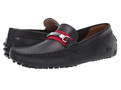 Lacoste Ansted 319 1 U (Black/Red) Men
