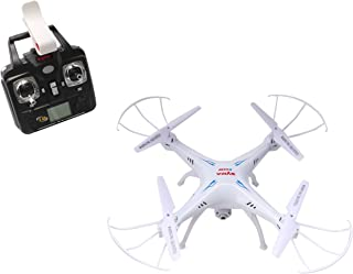 Syma X5SW Explorers2 2.4G 4CH 6-Axis Gyro RC Headless Quadcopter with 0.3MP HD WiFi Camera (FPV) White