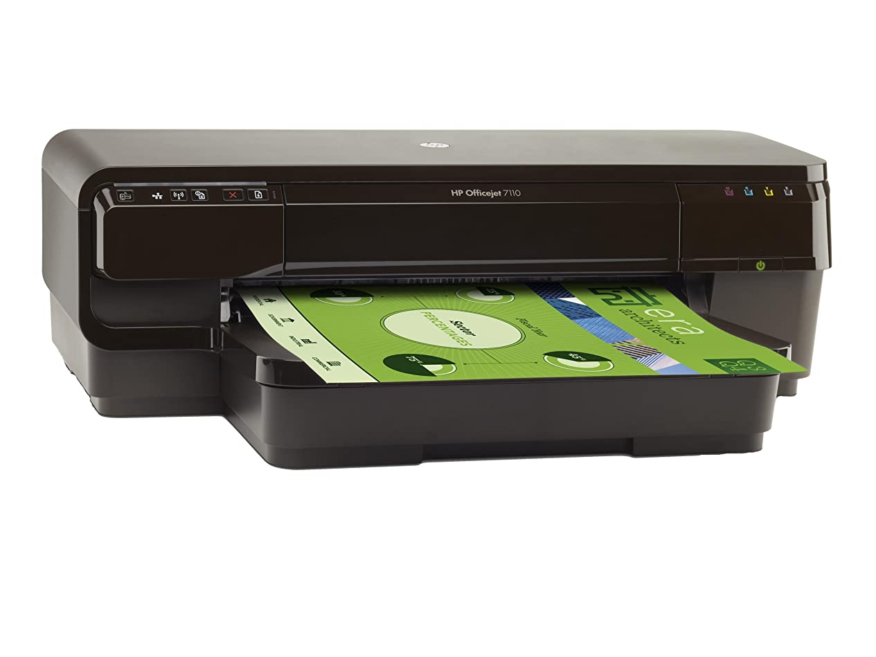 ステーキ湿原味HP プリンター インクジェット Officejet 7110 AirPrint CR768A#ABJ ( ワイヤレス / A3? ) ヒューレット?パッカード
