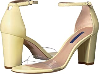 Stuart Weitzman Women's Nearlynude Clear Sandals