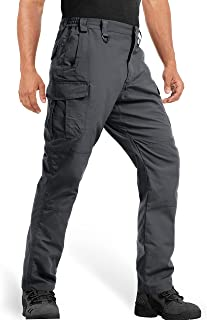 MAGCOMSEN Men's Tactical Pants 9 Pockets Ripstop, Water Repellent, Cargo Pants for Work, Hiking, Hunting