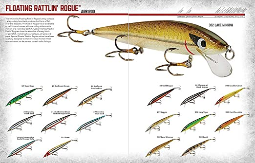Smithwick Floating Rattlin/' Rogue 4 1//2 inch Jerkbait//Trolling Minnow