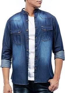 RODID Men's Denim Full Sleeve Shirt