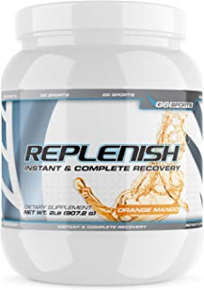 G6 Sports Nutrition Replenish Instant & Complete Recovery (Post Workout Formula, 11g of BCAAs & EAAs, 20g Whey Protein, 10...