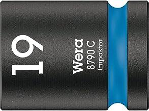 """Wera 05004576001 8790 C Impaktor nasadka klucza nasadowego 1/2"""", niebieska, 19,0 mm"""