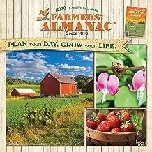 Farmers' Almanac 2020 12 x 12 Inch Monthly Square Wall Calendar, Weather Farm Gardening Health Organic