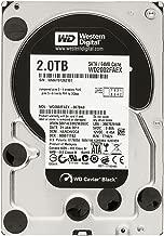 Western Digital Caviar Black 2 TB SATA III 7200 RPM 64 MB Cache Bulk/OEM Internal Desktop Hard Drive - WD2002FAEX (Renewed)