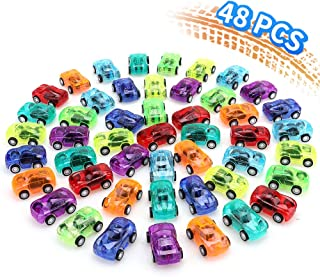 nicknack 48PCS Pull Back Cars for Kids Birthday Party Favors Prizes Box Toy Pinata Fillers
