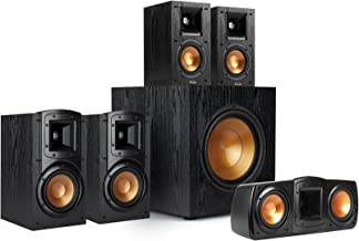 """Klipsch Synergy Black Label B200 5.1 Powerful and Efficient Cinema-Quality Home Theater System with 10"""" Front-Firing Subwo..."""