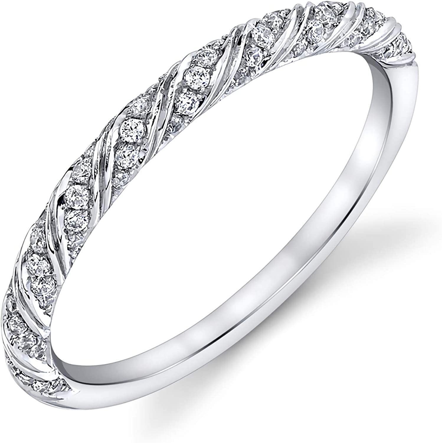 1 5 carats Wedding Max 81% OFF bands Max 59% OFF for women Gold 10K 18K w 14K Moissanite