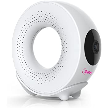 iBaby Monitor M2S Plus, 1080p Full HD Wi-Fi Digital Video Baby Monitor with Temp & Humidity Detector and Sound and Motion Alerts