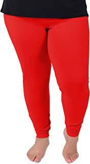 Women's Cotton Plus Size Leggings